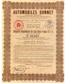 Autmobiles Donnet