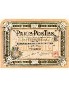 """""""Paris-Postes"""""""