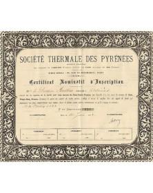 Sté Thermale des Pyrénées