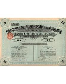 Sao-José Diamonds and Carbons.