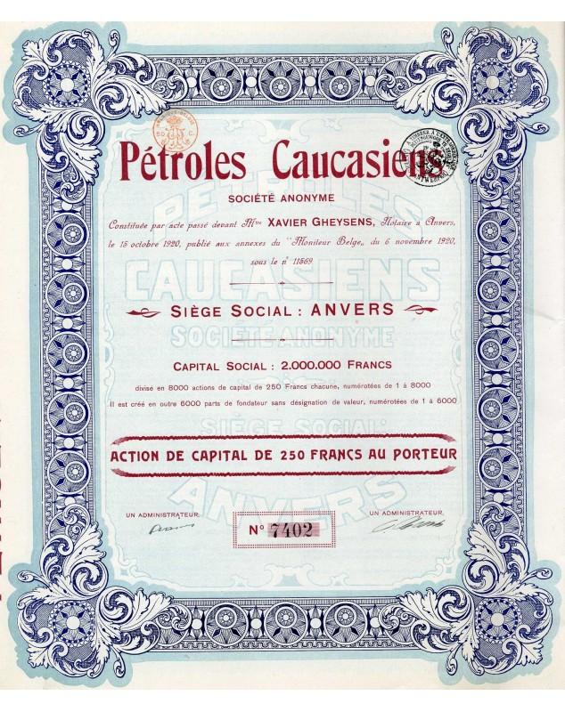 Pétroles Caucasiens