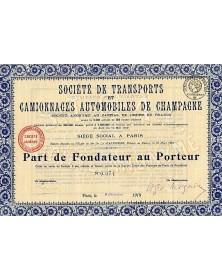 Sté de Transports et Camionnages Automobiles de Champagne