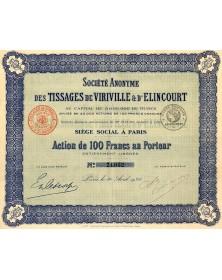 S.A. des Tissages de Viriville & d'Elincourt