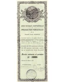 Sociedad Espanola de Productos Forestales