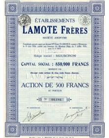 Ets Lamote Frères
