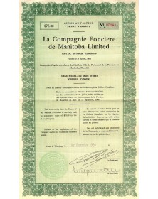 La Cie Foncière de Manitoba Ltd.