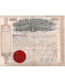 West Canadian Collieries Ltd