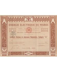 Energie Electrique du Maroc