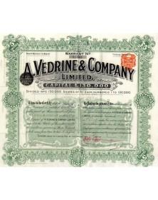 A. Vedrine & Company Ltd
