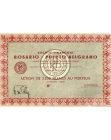 Sté Financière de Rosario-Puerto Belgrano