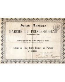 Marché du Prince-Eugène - XIème arr. Paris