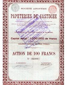 Papeteries de Gastuche (Commune de Grez-Doiceau)