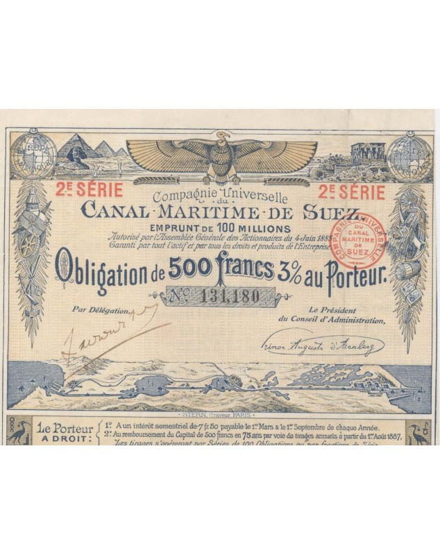 Cie Universelle du Canal Maritime de Suez