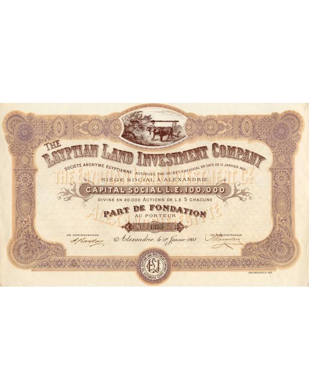 The Egyptian Land Company