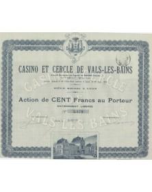 Casino et Cercle de Vals-les-Bains