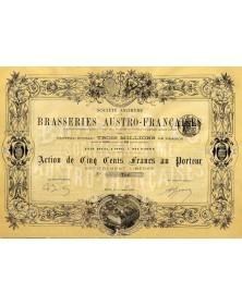 Sté des Brasseries Austro-Françaises