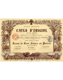 Sté Française des Cafés d'Origine