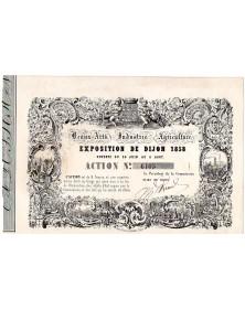 Exposition de DIJON 1858