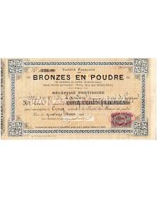 Sté Française des Bronzes en Poudre