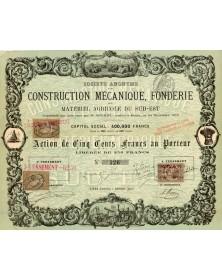 Sté de Construction Mécanique, Fonderie et Matériel Agricole du Sud-Est