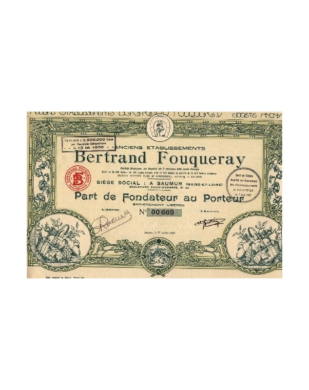 Anciens Ets Bertrand Fouqueray