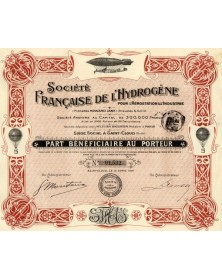 Sté Française de l'Hydrogène pour l'Aérostation et l'Industrie (Procédés Howard Lane)