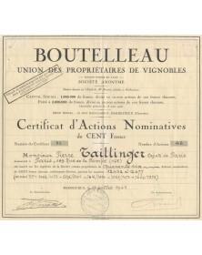Boutelleau - Union des Propriétaires de Vignobles