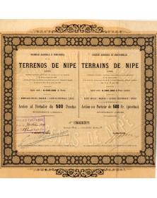 Sté Agricole et Industrielle des Terrains de Nipe (Cuba)