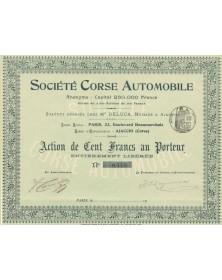 Sté Corse Automobile