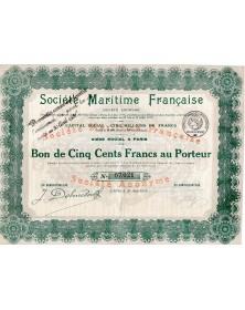 Sté Martime Française