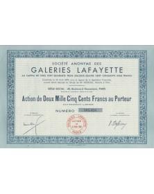 S.A. des Galeries Lafayette