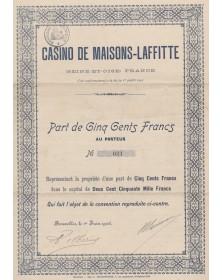 Casino de Maisons-Laffitte (Seine-et-Oise)