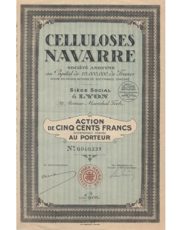 Celluloses Navarre