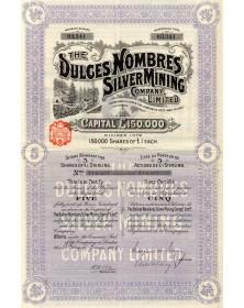 The Dulces Nombres Silver Mining Co. Ltd