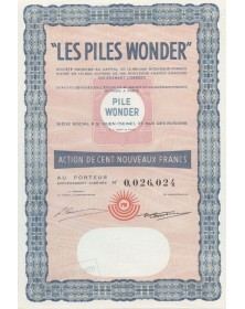 Les Piles Wonder