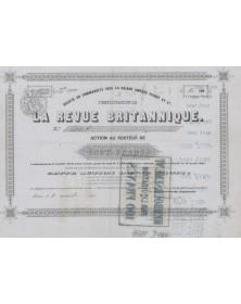 La Revue Britannique, Amédée Pichot et Cie