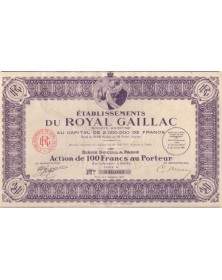 Ets du Royal Gaillac