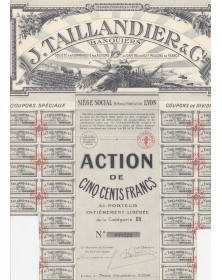 J. Taillandier & Cie -Banquiers