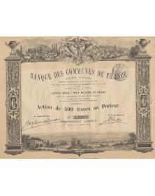 Banque des Communes de France