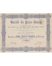 Sté du Paris-Bourse