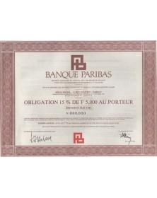 Banque PARIBAS