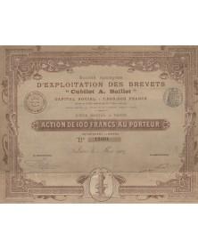 "S.A. d'Exploitation des Brevets ""Cubillot A. Baillot"""