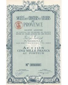 Sté des Chantiers et Ateliers de Provence