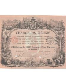 Chargeurs Réunis - Cie Française de Navigation à Vapeur, Signature Stern