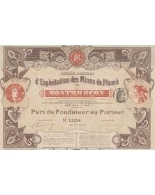 S.A. d'Exploitation des Mines de Plomb de Montmarçon