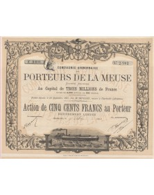 Cie Ardennaise des Porteurs de la Meuse