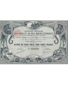 Cie Française du Haut & Bas-Congo