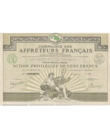 Cie des Affréteurs Français