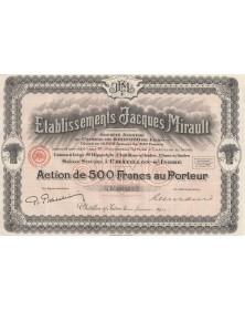 Ets Jacques Mirault (Moulins)