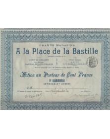 Grands Magasins A la Place de la Bastille - Brusset Frères